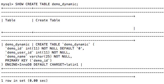 Mysql optimize table - Mysql create table example ...