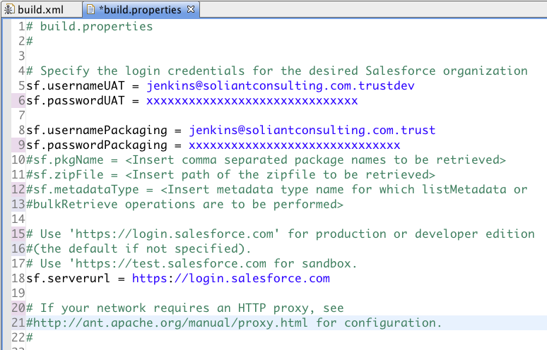 Salesforce Migration and the Salesforce com Ant Migration Tool