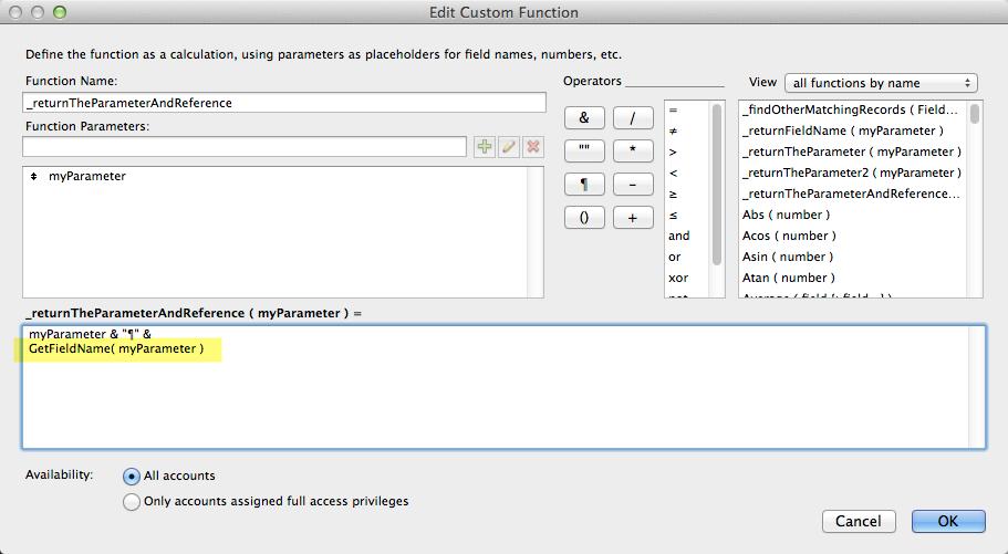 Thesis 2 custom functions
