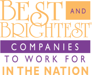 Best and Brightest Companies to Work for in the Nation logo