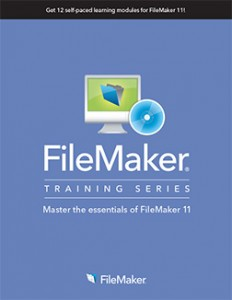 FileMaker Training Series - Master the essentials of FileMaker 11 book cover