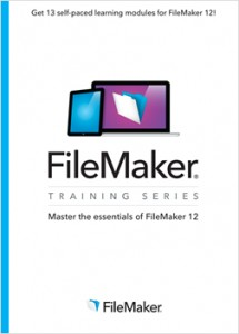 FileMaker Training Series - Master the essentials of FileMaker 12 book cover