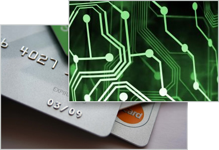 Credit cards and wires