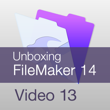 Unboxing FileMaker 14 - Video 13