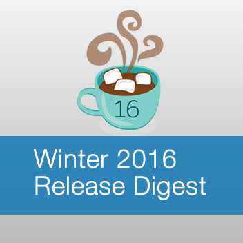 Winter 2016 Release Digest