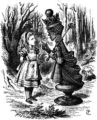 """""""Speak in French when you can't think of the English for a thing-- turn your toes out when you walk—And remember who you are!""""-- Lewis Carroll, Through the Looking Glass"""