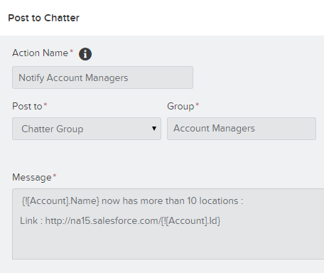 Chatter - Post to Chatter