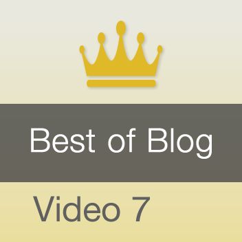 Best of Blog - Video 7, Staying on the Keyboard