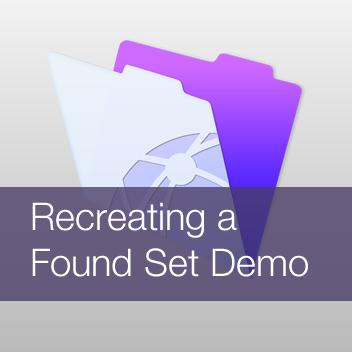 Recreating a Found Set Demo