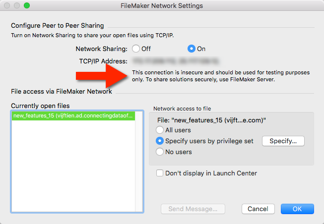 FileMaker 15: SSL Security Warnings - Soliant Consulting