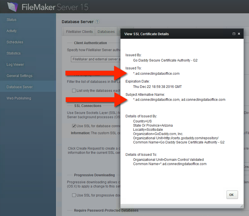 Filemaker 15 Ssl Security Warnings Soliant Consulting