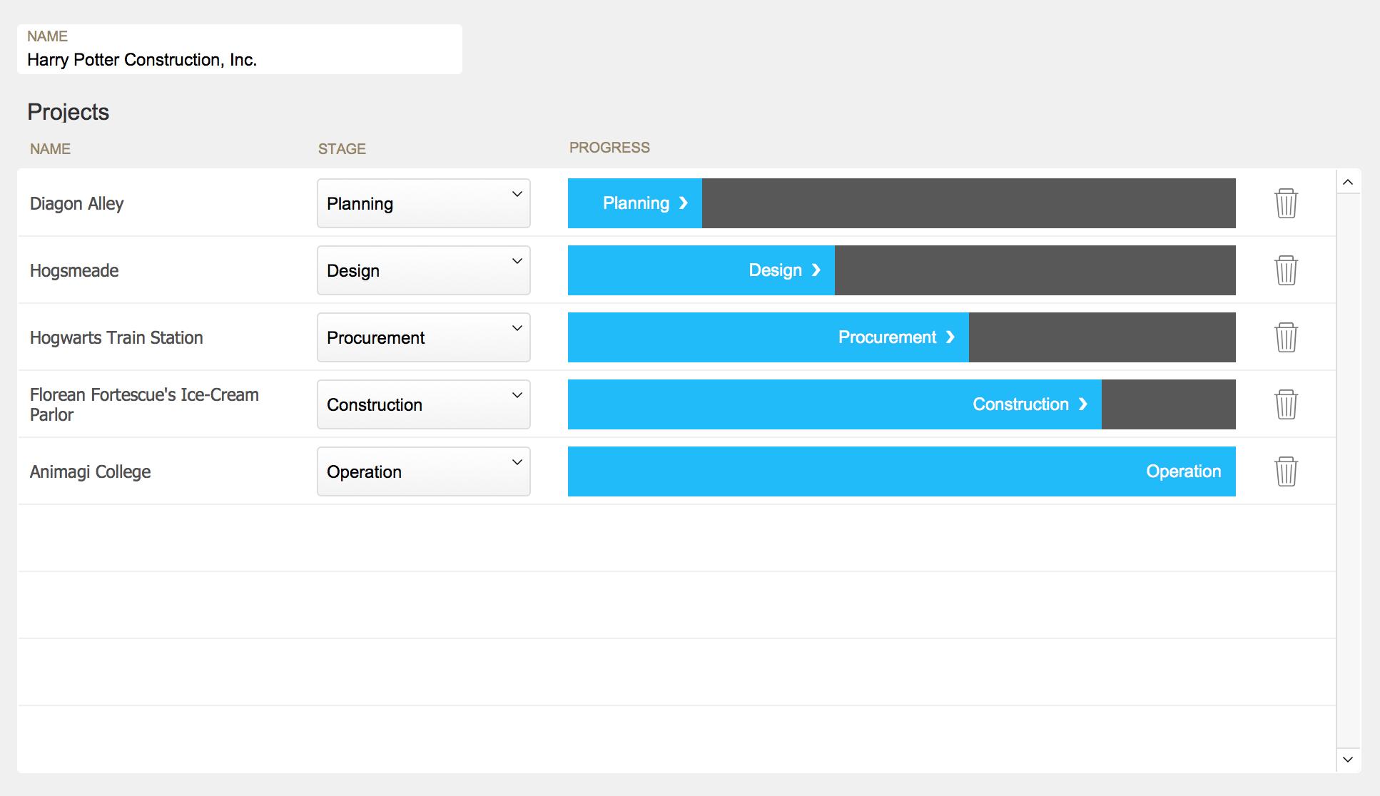 FileMaker Button Bar as Progress Bar - Soliant Consulting