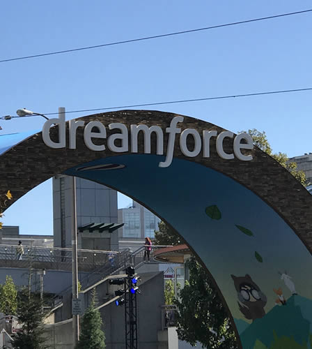 Dreamforce marquee