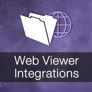 Web Viewer Integrations