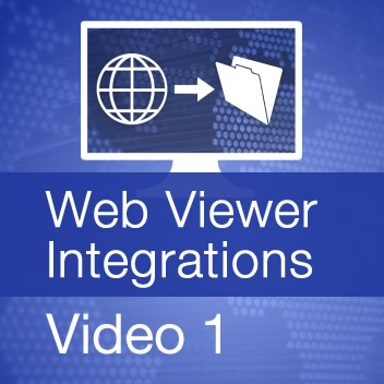 Web Viewer Integrations - Video 1