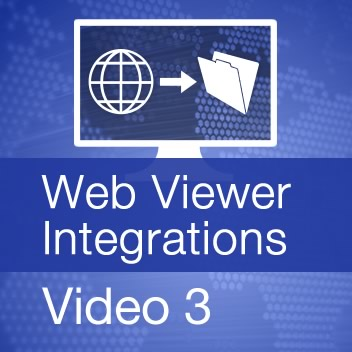 Web Viewer Integrations - Video 3