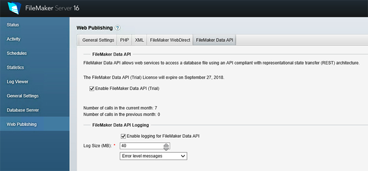 FileMaker Data API: Uses and Applications in FileMaker Server
