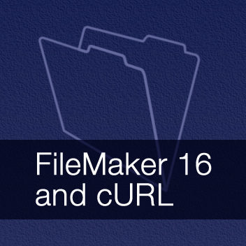 FileMaker 16 and cURL