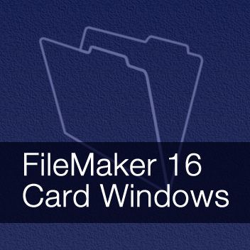 FileMaker 16 Card Windows