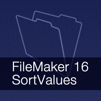 SortValues and UniqueValues functions in FileMaker 16 demo