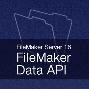 FileMaker Server 16: FileMaker Data API Demo