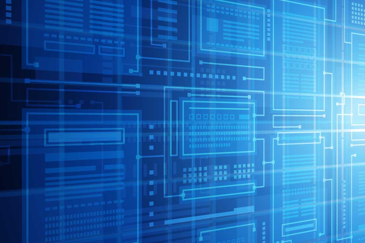 Illustration of database