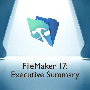 FileMaker 17: Executive Summary