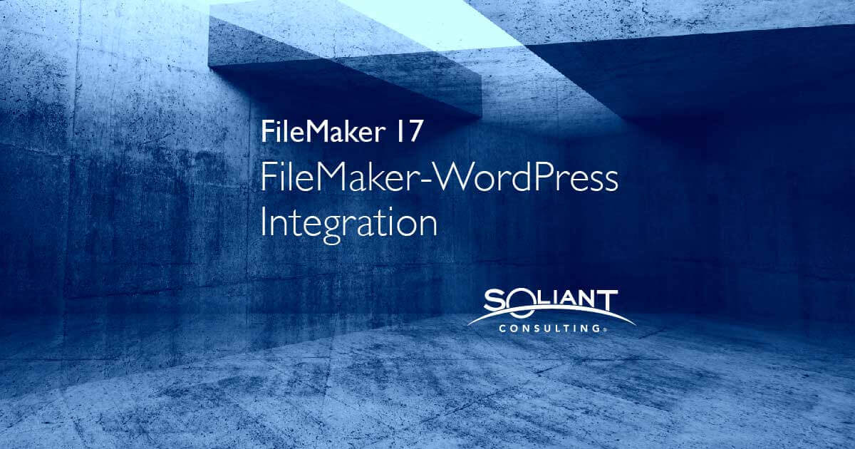 How to Connect FileMaker Data API to a WordPress Website
