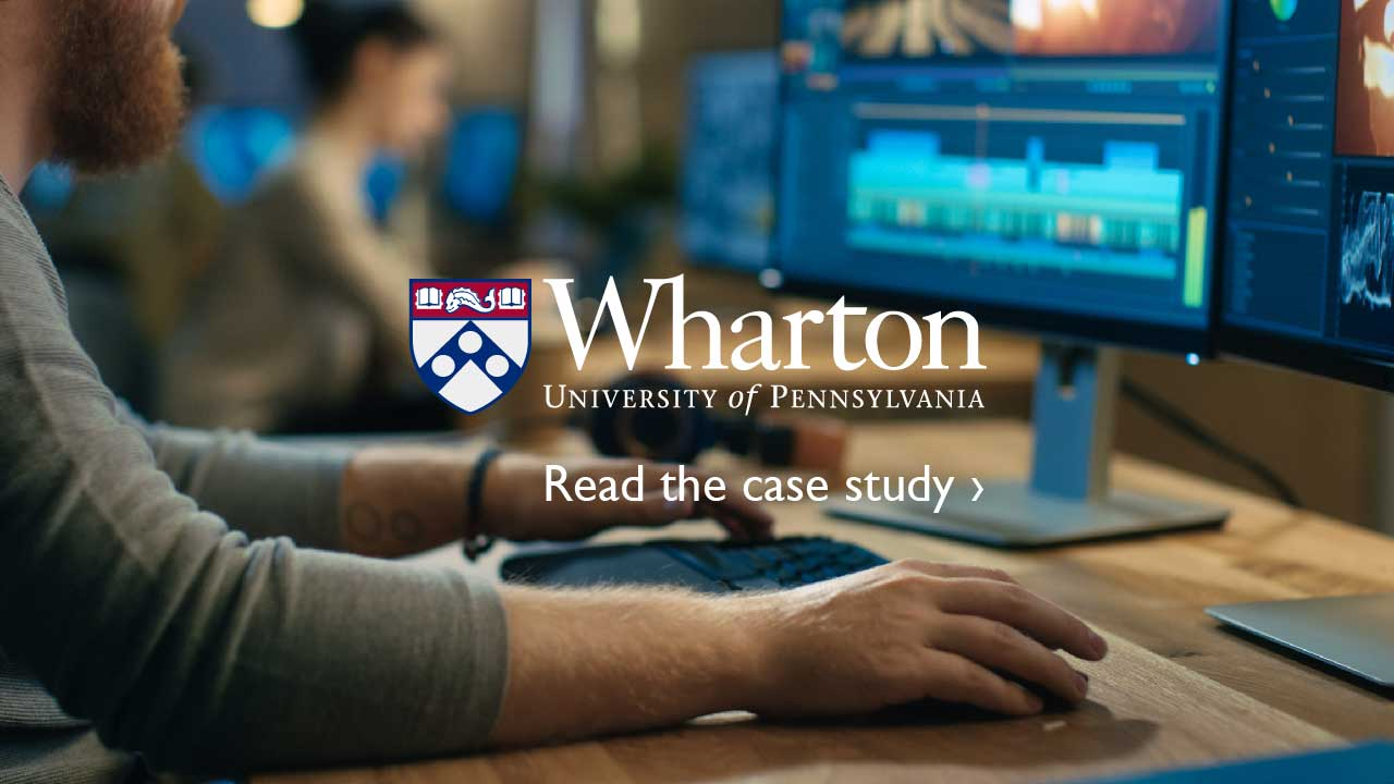 Wharton University of Pennsylvania - Read the case study