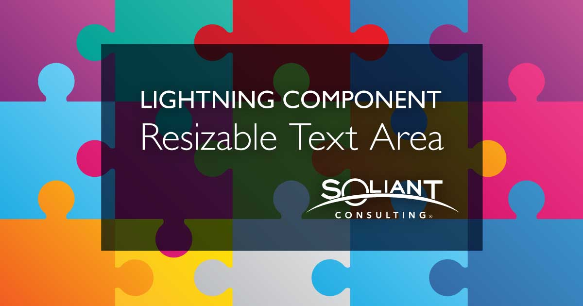 How to Use the Salesforce Lightning Resizable Text Area