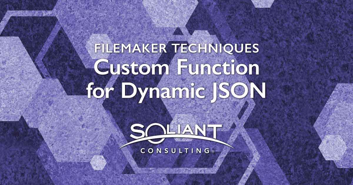 Create Dynamic JSON for Related Records This Custom Function