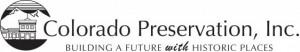 Colorado Preservation, Inc. - Building a Future with Historic Places logo