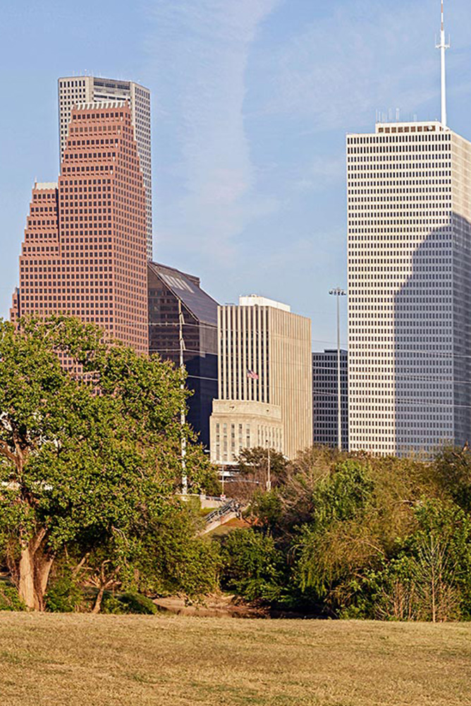 Buildings in Houston, Texas
