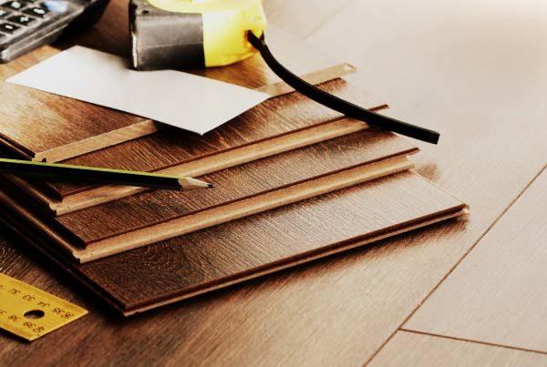Materials for installing laminate flooring