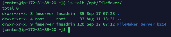 Screenshot result of renaming folder