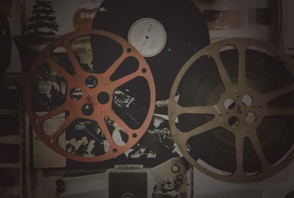 Photo of movie reels