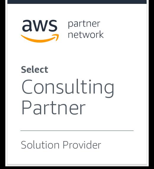 AWS Partner Network - Select Consulting Partner, Solution Provider