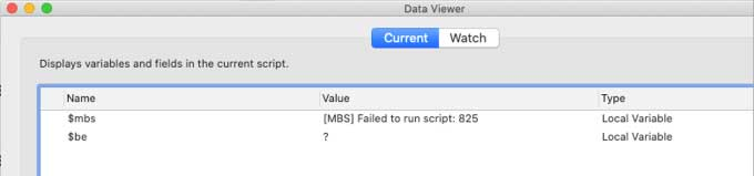 Screenshot of the Data Viewer