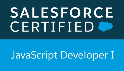 Salesforce Certified - JavaScript Developer I