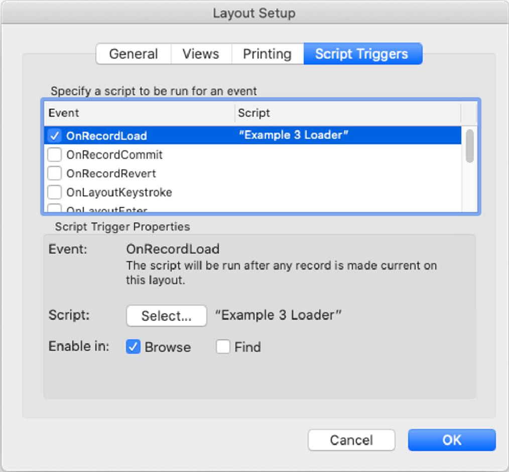 Layout setup for remote schema validation
