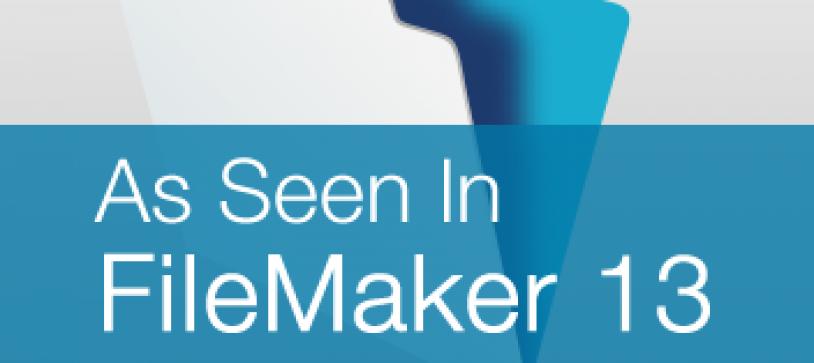 As Seen in FileMaker 13