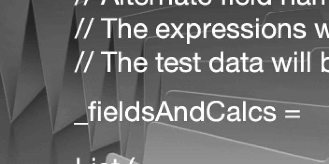 Test Data Generator Files