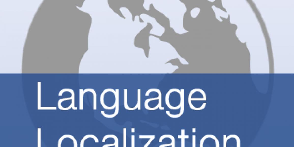 Language Localization Demo in FileMaker