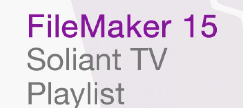 FileMaker 15 Playlist